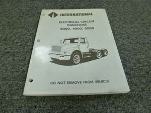 1997 International 2554 2574 2654 2674 Truck Electrical