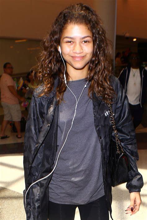 Zendaya Coleman At Lax Airport In La 0512016