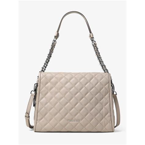 michael kors quilted bag michael kors large quilted leather shoulder bag in