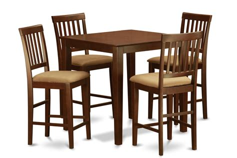 chair height for counter height table 5 piece counter height table set table and 4 kitchen