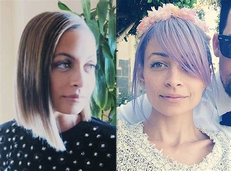 Nicole Richie Has Some Crazy Changing Hair Color—see The