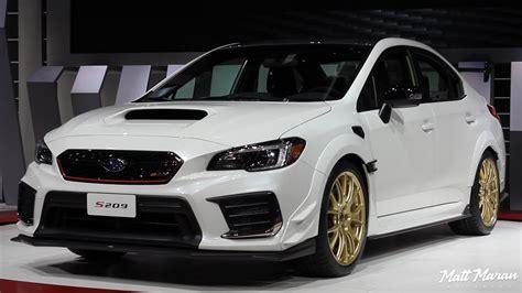 2020 Subaru Sti by 2020 Subaru Wrx Sti S209 Up Look 2019 Naias