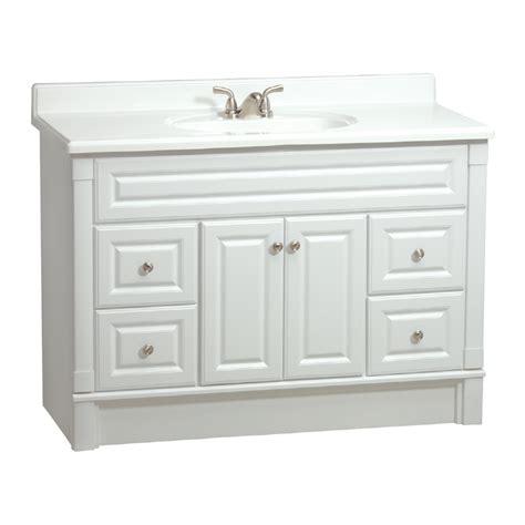 estate  rsi southport white   casual bathroom vanity