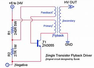 Flyback Transformer Driver Not Working