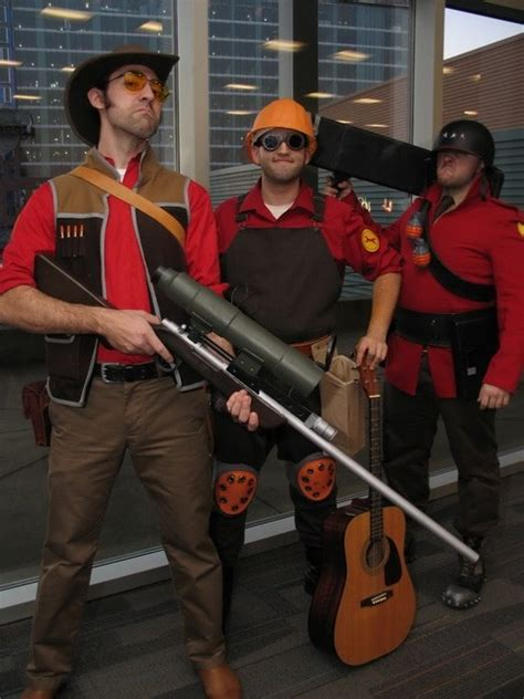 Reliable Excavation Demolitions Team Fortress 2 Cosplay