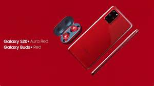 Samsung Galaxy S20 Plus In  U0026quot Aura Red U0026quot  Is One Of The Models