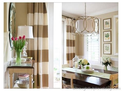 Black And White Horizontal Striped Curtains Diy by 1000 Ideas About Horizontal Striped Curtains On