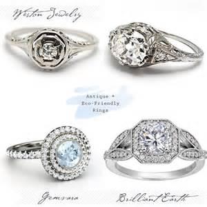 vintage wedding rings unique vintage engagement rings best day