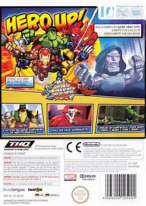 Marvel Super Hero Squad 2009 Wii Box Cover Art Mobygames