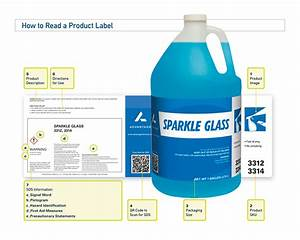 anatomy of an advantage chemical product label advantage With chemical product labels