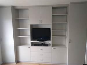 Meuble Tele Avec Rangement : meuble tv avec rangement ~ Teatrodelosmanantiales.com Idées de Décoration