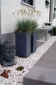 vorgarten pflegeleicht balkon terasse und garten With französischer balkon mit stehender buddha garten