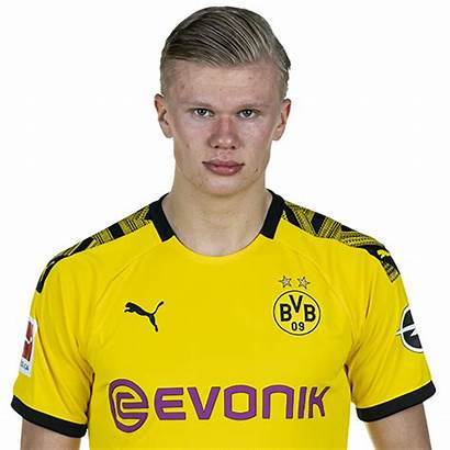 Player Erling Braut Haaland Profile Dortmund Cutout