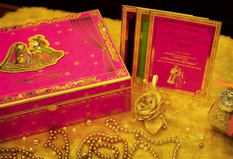 Indian Wedding Invites With Royal Creative Art & Craft