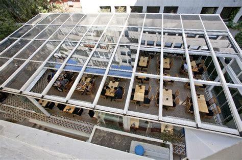 commercial restaurant enclosure retractable patio roof