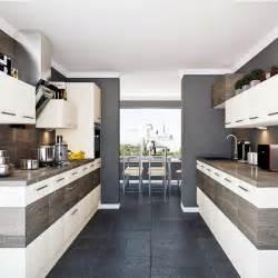 Corridor Shaped Kitchen by Galley Kitchen Designs Kitchen Sourcebook