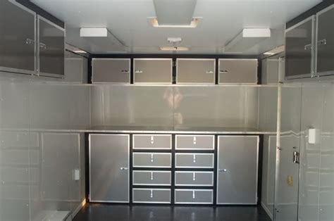 Enclosed Trailer Cabinets by Aluminum Trailer Cabinets Trucks Trailers Rv S