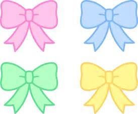 Cute Hair Bow Clip Art