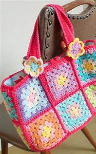 1000  Images About Granny Square Bags On Pinterest