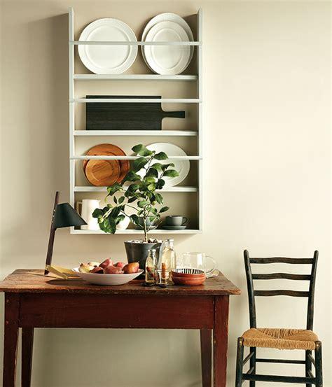 diy wall mounted plate rack