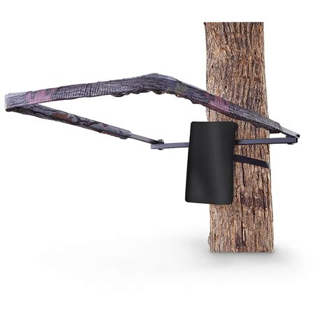 guide gear universal padded shooting rail 177445 tree