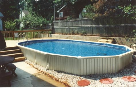 Semi Inground Pools  Brands Options Prices Reviews And Advice