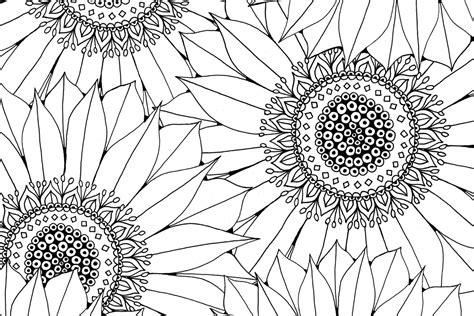 sunflower  pattern  hobbycraft blog