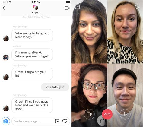 chat instagram camera revamped effects fun tab explore direct implements