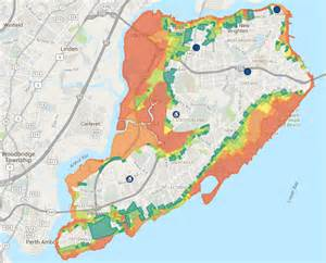 Staten Island FEMA Flood Zone Map