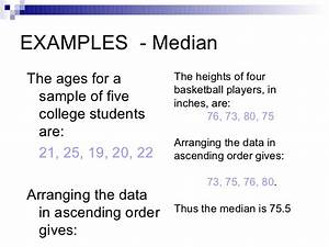 Image Gallery median example