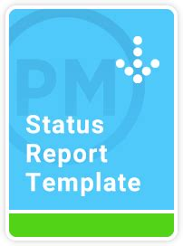 project status report  excel template