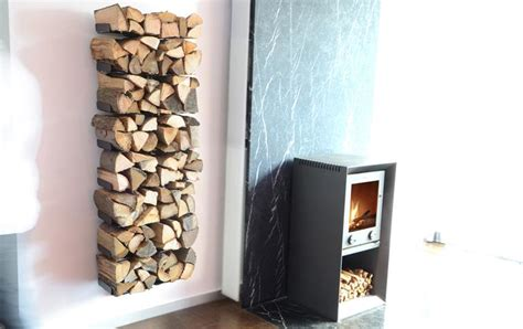 einrichten fast unsichtbar kaminholzregal wooden tree