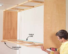 How to Build Excellent Garage Cabinets in 7 Easy Steps