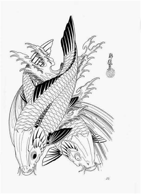 80 Diseños para Tatuajes de carpas y que significan