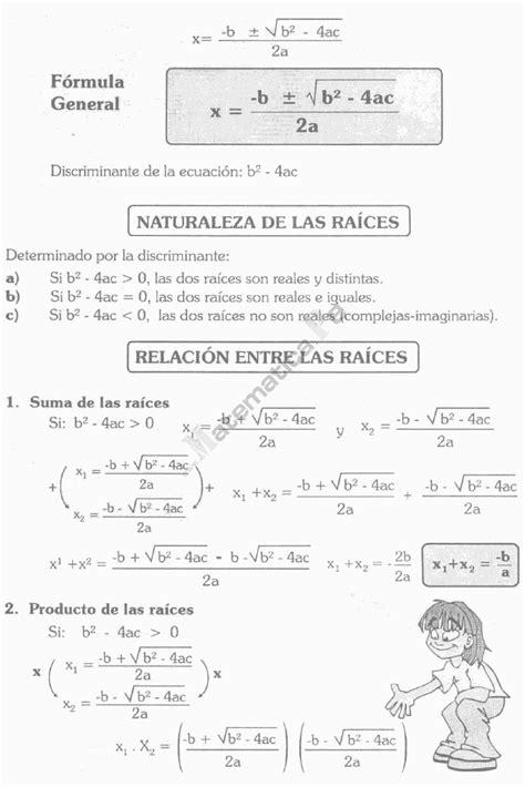Ecuaciones De Segundo Grado Ejercicios Resueltossegundo
