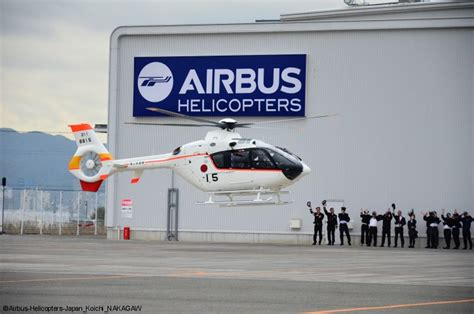 General Dynamics Electric Boat Self Service by Airbus Helicopters Completes Delivery Of H135s To Jmsdf