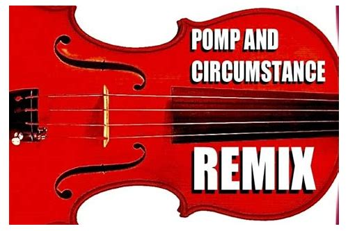 pomp and circumstance remix free download