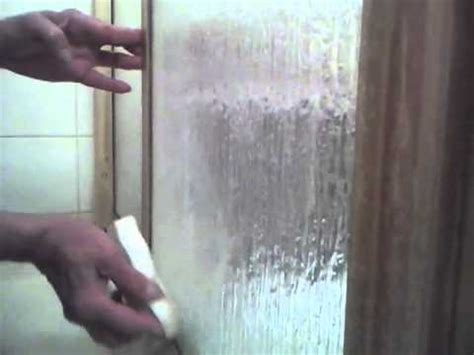 How To Remove Water Stains From Glass Shower - how to clean glass shower doors remove rust stains and