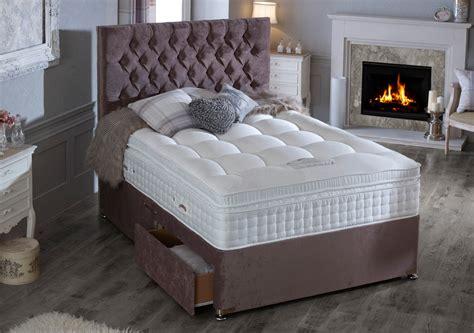 heritage natural  gold divan bed race furniture