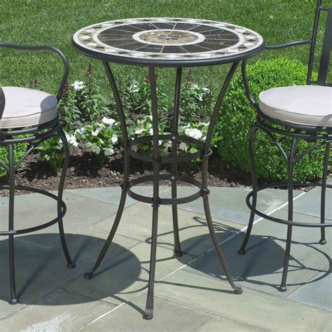 Metal Patio Table And Chairs by Modern Outdoor Ideas Small Metal Garden Table White Dining
