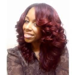 Black Hairstyles Flat Iron Curl Hair