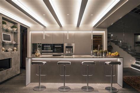 I Led Illuminazione Ecco Come Illuminare La Cucine E La Zona Living Con Le