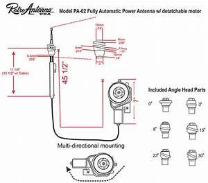 Soundlabs Group Retrosound Pa02 Flexible Mount Electric Aerial