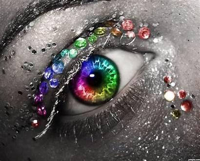 Colors Pxleyes Rainbow Photoshop Contest Eye Beauty