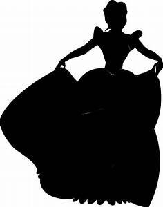Disney+Princess+Silhouette+Printables | Princess ...