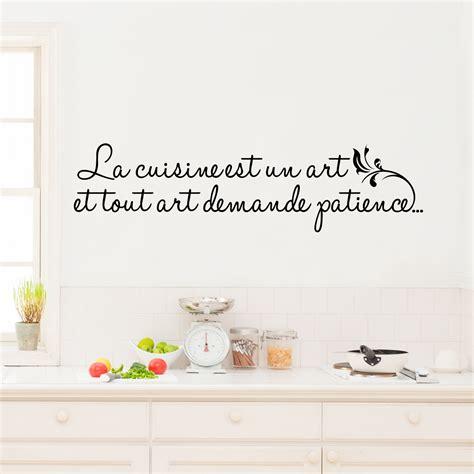 cuisine est sticker la cuisine est un stickers citations