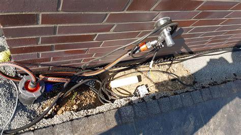 Gartenbewässerung Selber Bauen Gräben, Leitungen Und