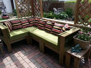 ana white outdoor sectional diy projects With build your own outdoor sectional sofa