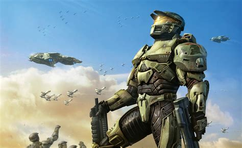 halo video games master chief military soldier