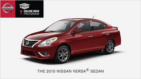 2016 Nissan Versa Sedan | Nissan USA